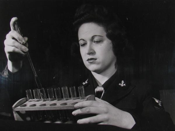 WAVE filling vials of medicine.