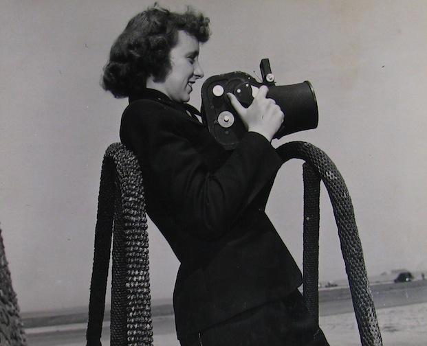 WAVES photographer taking photo.