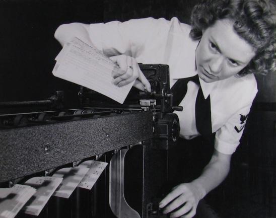WAVE checking IBM computer.